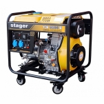 Generator curent Stager YDE 6500E , diesel