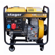 Generator curent Stager YDE 6500E3 trifazat , diesel