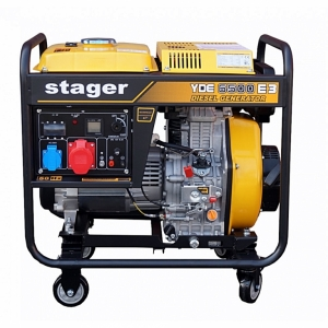 Generator curent Stager YDE 6500E3 trifazat , diesel#1